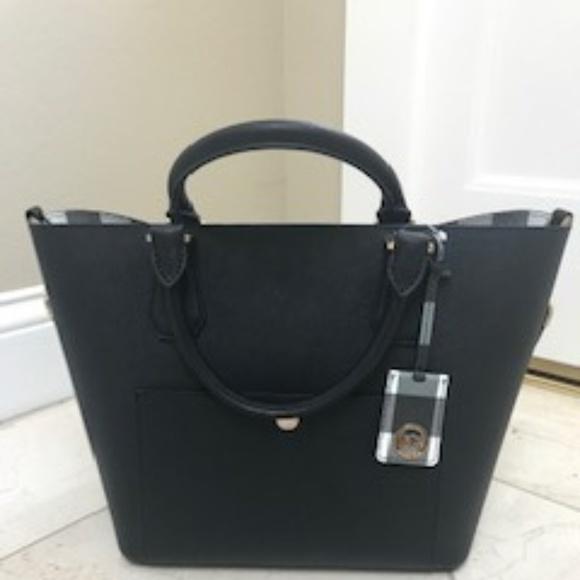 4697e68a09f4 Michael Kors Bags | Nwt Lg Blk Greenwich Tote Bag Purse | Poshmark